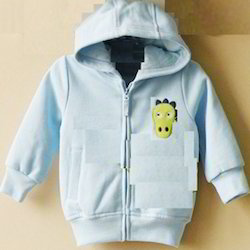Baby Hooded Sweat Shirt Front Full Open Zipper