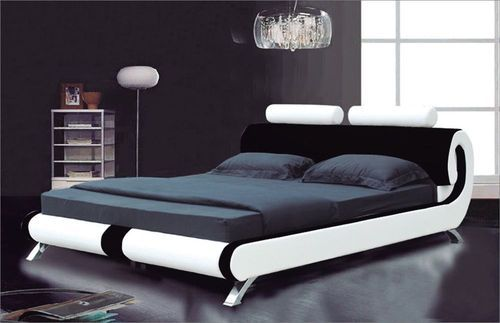 Modern Double Bed. Wooden Furniture Manufacturer from Gurgaon