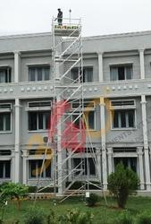 Aluminum Mobile Tower Scaffolding