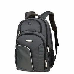 Plain Black School Bag, For College