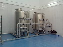 Automatic Stainless Steel Water Purification Plant, Capacity: 5000-1000 litres per hour