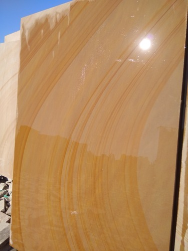Wood Color Sandstone Flooring Tiles Thickness 0 5 Mm