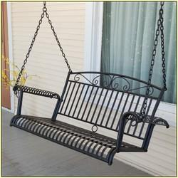 Metal Porch Swing प र च क झ ल प र च स व ग