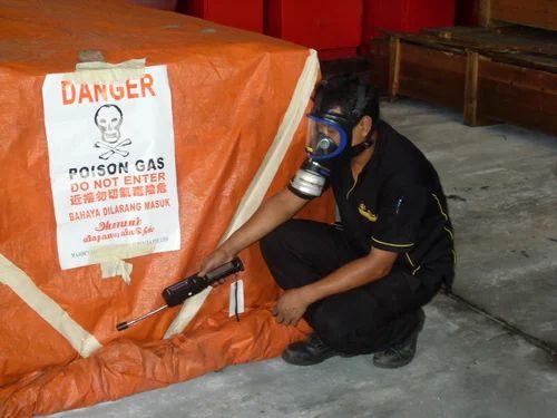Wooden Box Fumigation Service