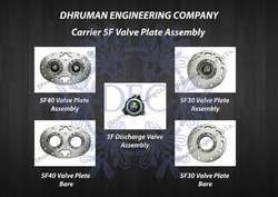 Carrier 5F Valve Plate Assembly