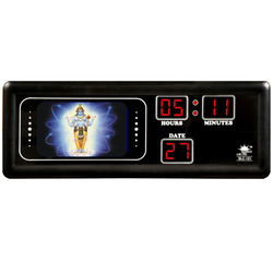 Lord Krishna Photo Studio Clock