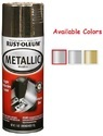 Rust Oleum Automotive Metallic Spray Paint