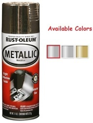 Rust Oleum Automotive Metallic Spray Paint