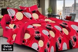 Delux Print Cotton Bed Sheet