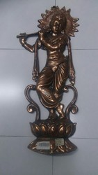 27 Inches Krishna Wall Hanging Statue