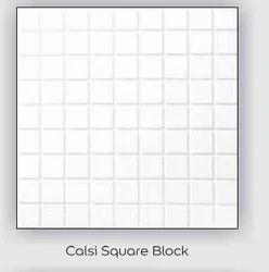 Calsi Square Block Tile