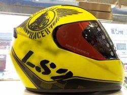 LS 2 Racer Motorcycle Helmet
