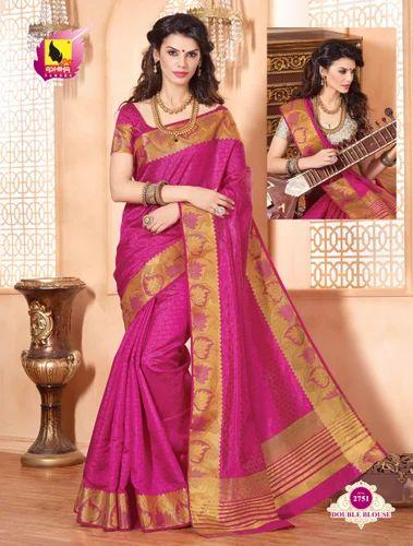 899cc238be Banarasi Silk Saree, Silk Sarees - Ashika Sarees Ltd, Mumbai | ID ...
