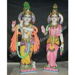 Hindu God Radha Krishna Statue