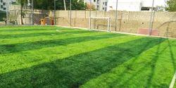 Green Artificial Grass Box Football Courts