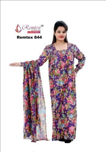ec742662ab Cotton Dupatta Gown