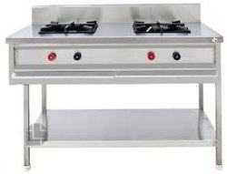 Indian Two Burner Cooking Range