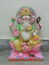 Marble Ganesha Sculpture