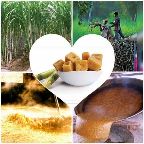 Organic Sugarcane Jaggery (cubes)