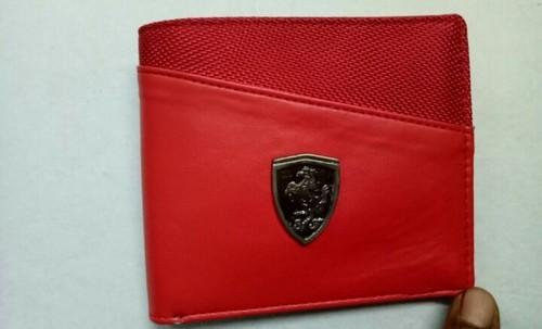 f0376fb4a7 P.u Red Puma Wallet