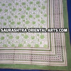 Flower Design Kantha Quilt