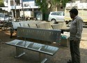 Stainless Steel Benches / SS Garden Benches