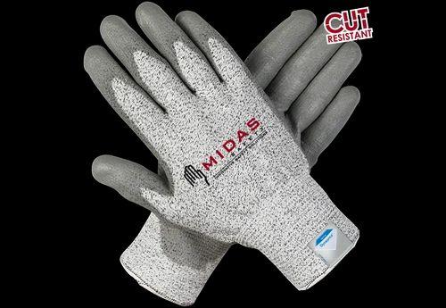 Dyneema- PU Coated Gloves, Industrial Uniforms & Safety Wear   Midas