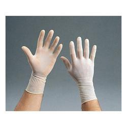 Rubber White Surgical Gloves