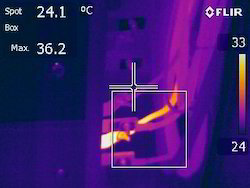 Thermography Services, Industrial, On-Site