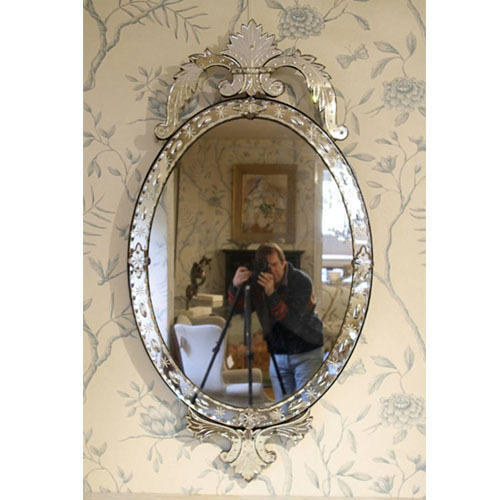 Oval Shape Small Mirror