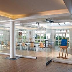 Movable Glass Walls