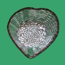Metal Heart Basket