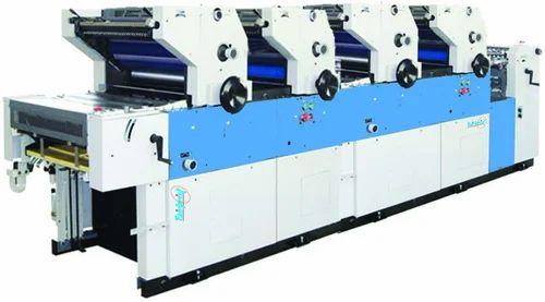 Multi Color Carry Bag Printing Machine