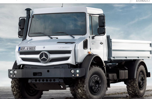 Mercedes Benz Unimog >> Mercedes Benz Unimog Door Faurecia Technology Center