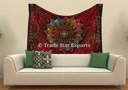 Star Mandala Tie Tapestry