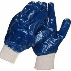 Nitrile Cut Resistant Hand Gloves With Elastic