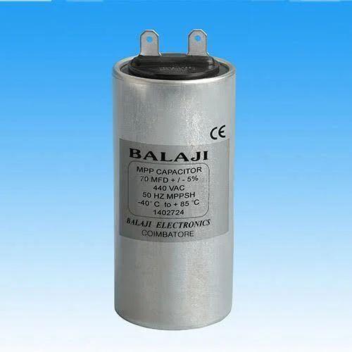 70 MFD Aluminium MPP Capacitor