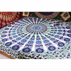 Round Mandala Tapestry Wall Hanging