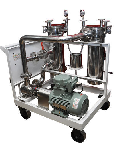 Stainless Steel Resin Filter Machine