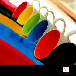 Multi Color Coffee Cups