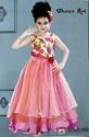 Floor Length Kids Gown