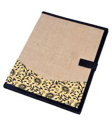 Jute and Cloth Patch Folder