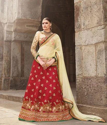 c8c65bb704 Fancy Bridal Lehenga at Rs 4000 /piece(s) | Bridal Lehenga - Variety ...