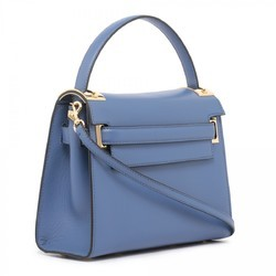 Leather Purple Fancy Ladies Bag, Size: 40 Cm X 30 Cm X 15 Cm