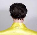 Men Brown Natural Hair Wig