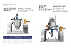 FHJ Series Automatic Container Mixer
