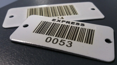 Metal Tags Barcode Tag Manufacturer From Mumbai