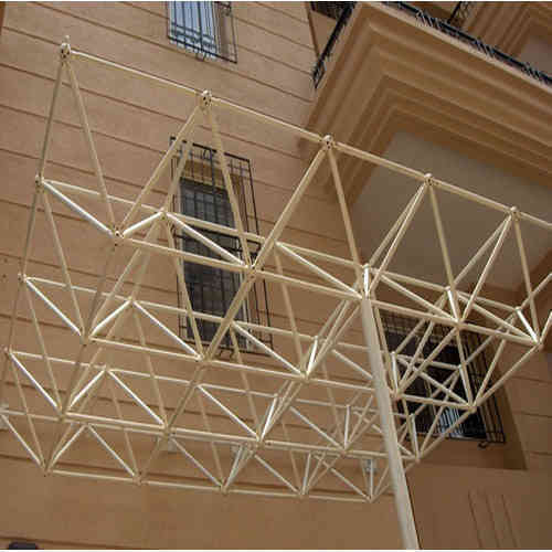 Stainless Steel Space Frame At Rs 300 Square Feet Steel