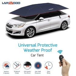 Blue Lanmodo Car Umbrella