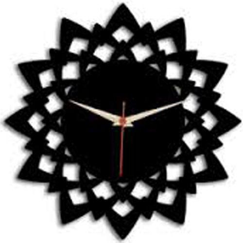 Black Mdf Designer Wall Clock at Rs 599 piece Wall Clocks ID